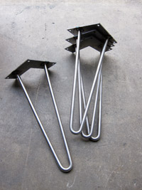 Furniture Legs Hairpin hairpin legs | metal table legs | stainless steel legs | custom