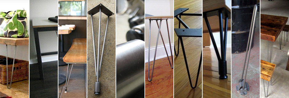 Hairpin Legs | Metal Table Legs | Stainless Steel Legs ...